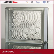 interior decoration glass block manufactures supply colored glass block 190mm *190mm*80mm