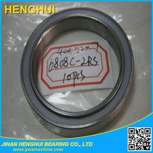 High Performance deep groove ball bearings 6808C hybrid ceramic ZrO2 Si3N4 thin section bearing 6808 2Rs Ceramic Bearing