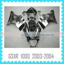 Quality motorcycle Fairing body kit for SUZUKI GSXR 1000 K3 2003 2004