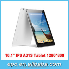 New Promotion For 10 Inch Bulk Wholesale 8GB Android Tablets Quad Core pc Tablet A31S Android Tablet Pad