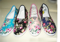 GCE606-custom printed canvas shoes for all ladies footwear design in dubai shoes