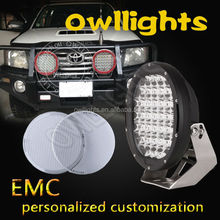 9 Inch LED Off-Road Light,111W LED Work Light,12/24V 111w Truck LED Driving Light 111w Extra car lights led