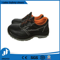 Rubber Outsole Material and Men Gender tumbled leather safety shoes