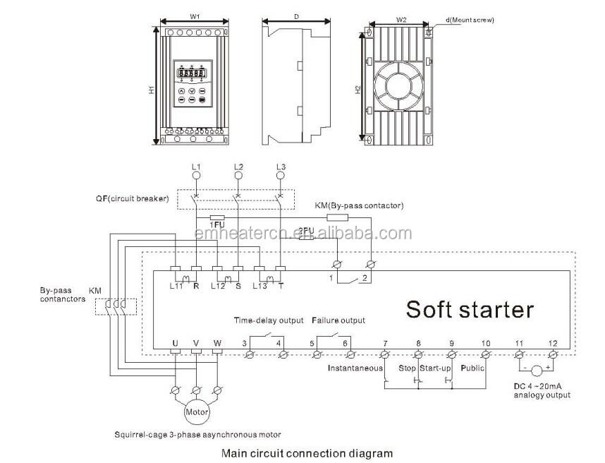 400kw 380v Ac Electric Induction Motor Soft Starter Buy