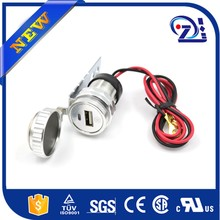 mobile phone car charger cable Supply+Watch motorcycle 9v 2a car charger