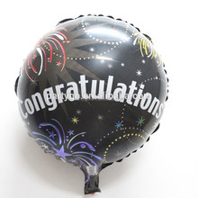 China 18 inch congratulation mylar balloon