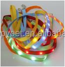 Nylon dog leashes LED