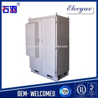 IP65 protection level and control box type waterproof telecom enclosure for 42U equipment storage purpose/SK-396 outdoor cabinet