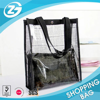 Basic Clear Plastic Travel Smart Hand Pouch Bag