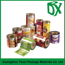 Health care product Customized Printed Laminated sachet Rolls / Laminated Film Packaging Stock