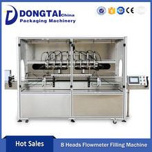 Automatic Bottle Oil Filling Machinery High Accuracy In Quantity Double Speed In Filling