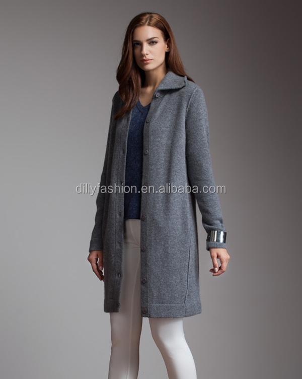 Knitting Pattern Women Winter Long Cashmere Sweater Coats Buy