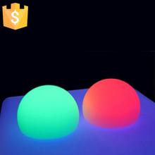 Atacadistas china alta qualidade rgb cores mudanças led bola forma lâmpada