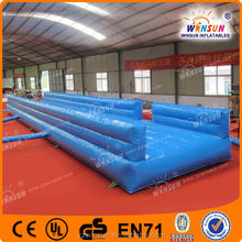 2014 EN14960 CE hot sale Custom made attractive international used inflatable tumble track for sale for gym