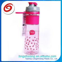 2015 32oz fruit infuser sport water bottle,gourd shape plastic water bottle with bpa free,chirdren drinking water bottle