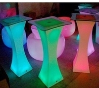 ot sale new modern design LED Light Sofa / modern plastic chair / cheap plastic chair