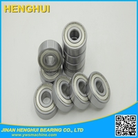 sewing ball bearing 606 zz 2rs bearing 6*17*6mm