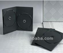 PP 5mm black single dvd storage case/plastic case for disc