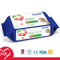 Organic delicate high quality plastic containers for wet wipes baby moist towelette