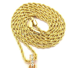Stainless Steel Twist Chain for Floating Locket, Gold Chain Neckles Jewelry