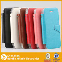 High quality Genuine Flip Leather Case Cover for APPLE IPHONE 5C