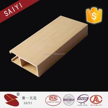 2015 wood grain building material interior decoration