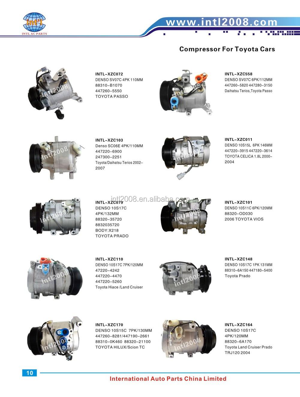 AC Compressor Clutch For Toyota Corolla Matrix Scion xD Reman 67328
