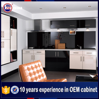 Factory direct sale high gloss modulated kitchen cabinets