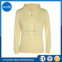 breathable sportswear terry cloth zipper thin hoodies