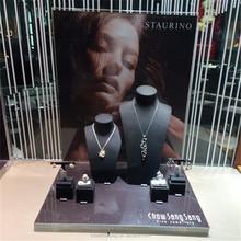 Fashion acrylic necklace display cabinet, jewelry display showcase