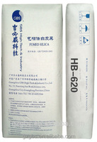 For rubber plastic paints inks printing industry, HB620 fumed silica