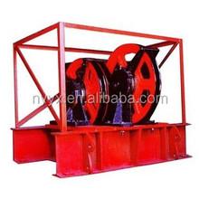 pulleys for crown blocks and varieties of pulleys