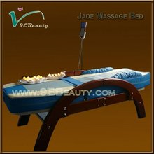 whole body infrared jade massage table , foldable massage bed