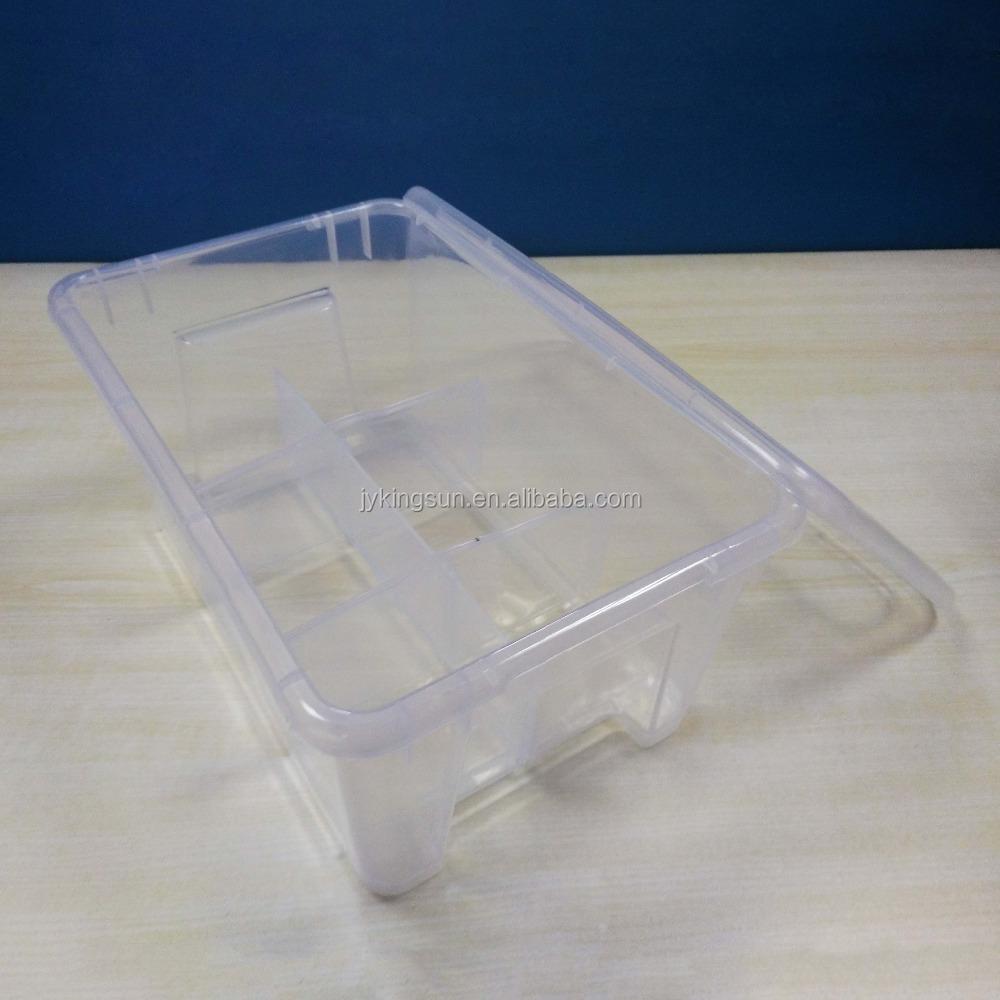cheap plastic storage boxes iris 6 quart clear storage. Black Bedroom Furniture Sets. Home Design Ideas