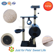 Sweet factory suppliers plush sisal cat tree