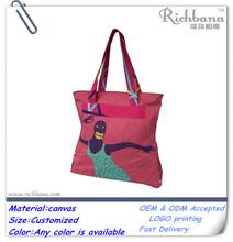 printing luxury canvas bag wholesale