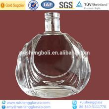 Elegante clara 700ml brandy/coñac decorativos <span class=keywords><strong>de</strong></span> vidrio <span class=keywords><strong>de</strong></span> la <span class=keywords><strong>botella</strong></span>