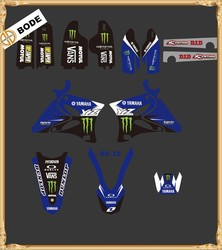 New Style TEAM GRAPHICS&BACKGROUNDS DECALS STICKERS Kits for YAMAHA YZ125 YZ250 2002-2012(DST0003)