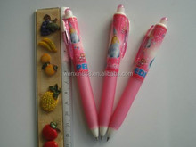 pink ballpoint pen brands for school/supermarket