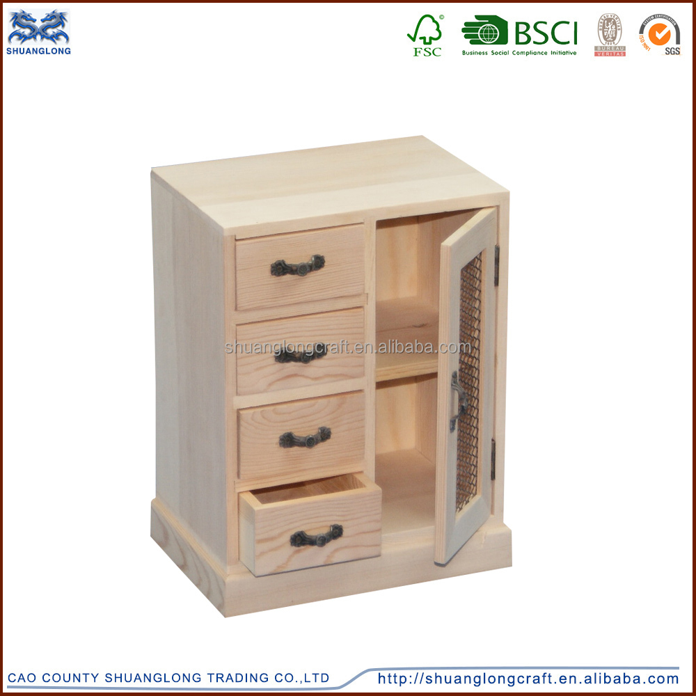 Home decor small wooden storage cabinets for living room for Wood cabinets