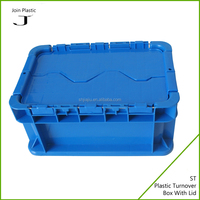 Small plastic food box with lock and key for sale