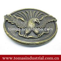 Popular classic custom made wholesale brass belt buckle