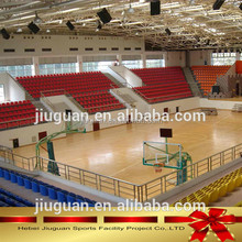 wooden Pvc sports flooring for basketball court