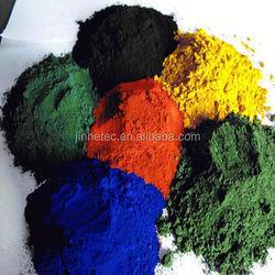 inclusion iron oxide orange pigment in enamel pigment