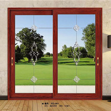 ECHANG 180# customized western style heavy duty sliding aluminium glass soundproof door