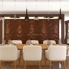 High quality environmental Interior decorative 3d wallpapers natural bamboo manufacturer