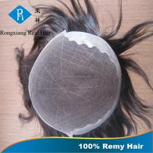 Cheap wholesale price 100% human remy 6 inch hair men toupee