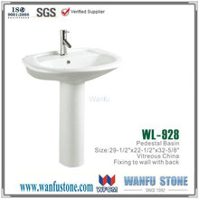 Shell shaped bathroom sink/commercial bathroom sink countertop