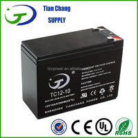 12V 10AH Maintenance Free 6 dzm 10 lead acid battery E-bike Battery
