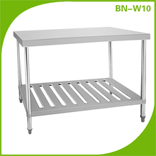 stainless steel dining table designs/stainless steel table for bakeries/metal work bench